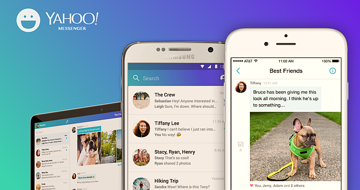 Stay in touch with friends and share files with Yahoo Messenger App