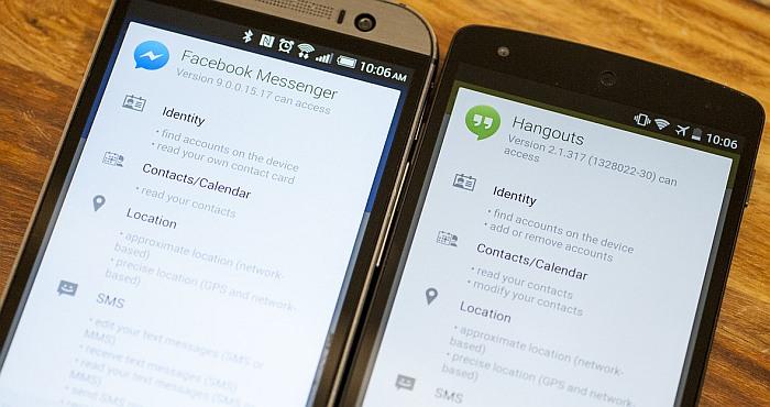 Facebook Messenger VS Google Hangouts