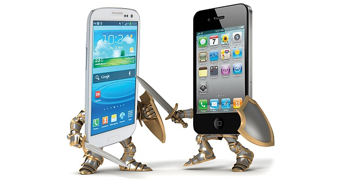 Be ready for phone battle between Samsung and Apple