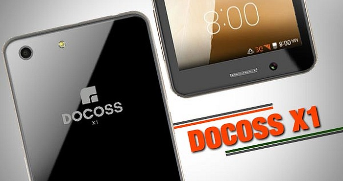 DOCOSS X1 Cheapest Smartphone Launched At Just $14