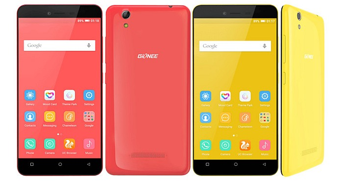 Gionee Launches Entry Level Pioneer P5L with Android 5.1